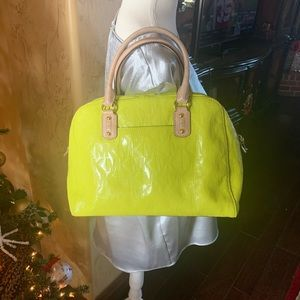 Michael Kors - Neon Yellow/Green Tote Handbag